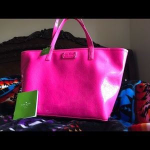Hot Pink Kate Spade NY Tote  24HR price DROP 